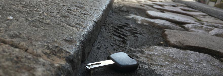 perte de clés
