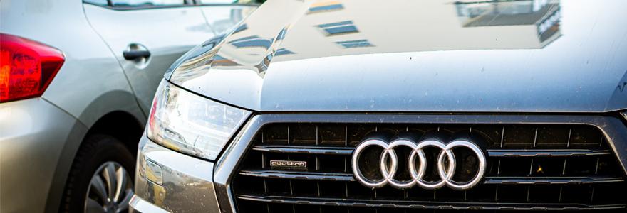 Voitures de marque Audi